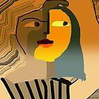 Sunset lady by Ana Johnson