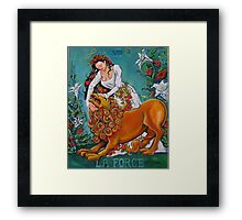 La Force Framed Print