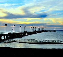 Frankston Pier by Tom Newman