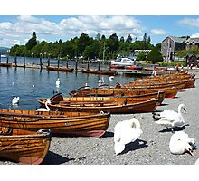 BOWNESS  ROWING BOATS  Photographic Print