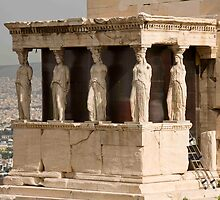 Athens In Repair by phil decocco
