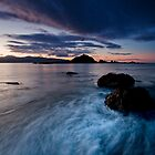 Island Bay Dawn Drift by Ken Wright