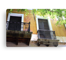 Spanish Doors Metal Print