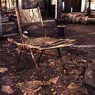 Take a seat. by Steve Chapple