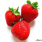 Strawberries by Jozianna