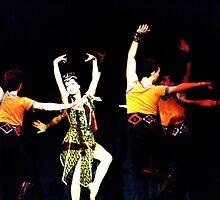 Traditional Armenian Dancers by Wayne Gerard Trotman