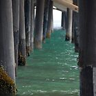 Beneath Pier by tom j deters