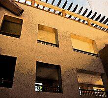 Hotel in Mexico by Lynne Prestebak