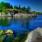 Heart of the Canadian Shield by Larry Trupp