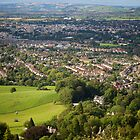 Leckhampton over Cheltenham by Friendly Photog