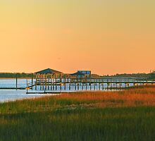 Sunset on Inner Bay, Wilmington, NC by mrthink