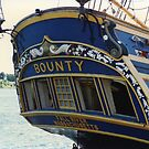 Stern, HMS Bounty by Mike Oxley