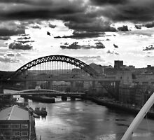 Newcastle skyline by shakey