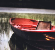Little Red Boat #2 by Joseph Timms