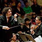 Gustavo Dudamel: Concert in London on Apr 18th 2009 by Reynaldo Trombetta