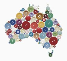 Aussie buttons by creativemonsoon