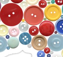 Aussie buttons Sticker