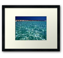 COASTAL SPLASHY ESCAPES Framed Print