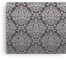 Decorative seamless floral ornament Canvas Print