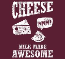 Cheese.....milk made awesome by w1ckerman