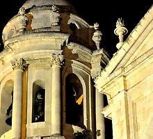 CADIZ - La Catedral - El campanario  by Daniela Cifarelli