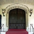 Hempstead House Entrance by Karen Checca