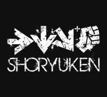 Shoryuken Command White by Reshad Hurree