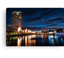Colours of Melbourne Canvas Print