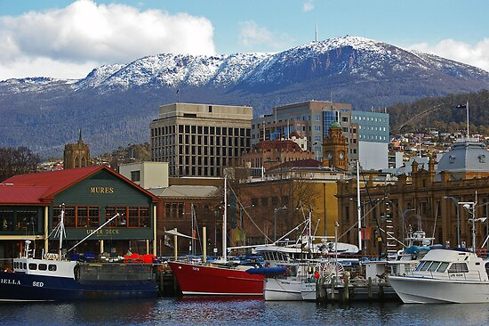 Winter Afternoon - Hobart by ShutterBuggz