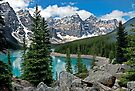 MORAINE LAKE, CANADA by Raoul Madden