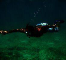 unterwater search by Jackie Fink