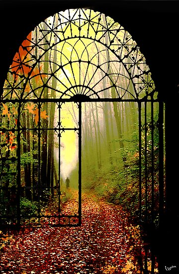 Gates of Autumn by Igor Zenin