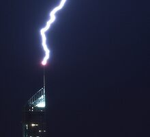 lightning strike at Q1 by Andrew Howell