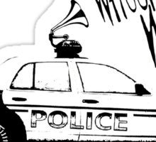 Sound of Da Police Sticker