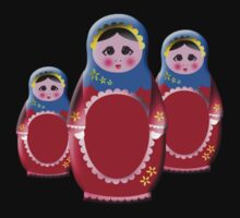 Matrioshka Dolls by Rainy
