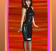 Latex Dress by Phaedra