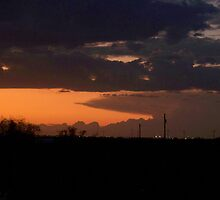 sunset over seminole tx by gabbielizzie