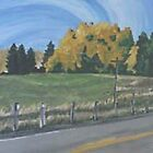 Autumn Highway by Christopher Clark