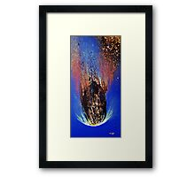 Asteroid Apohis Framed Print