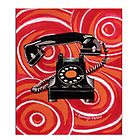 1930s Rotary Phone by Janet Rawlings