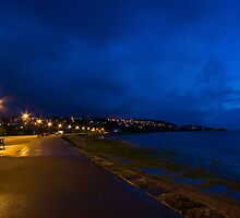 Portishead Promenade at Sunset by Nigel Bangert