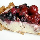 Vodka-soaked Berry Cheesecake by mjds