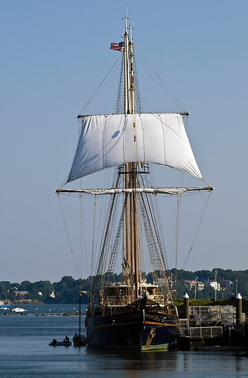 Peacemaker Tall Ship by Monica M. Scanlan