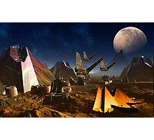 Mystery on Phobos Photographic Print