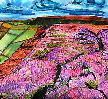 Delightful Landscape - At the Moors by Nira Dabush