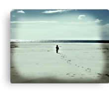 The Lonely Traveller Canvas Print