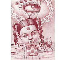 Little Patricia's third eye blind Photographic Print