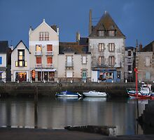 Port du Croisic, Atlantic Coast, France by Loran