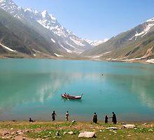 Lake Saif ul Muluk - 1 by Emoto