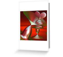 Expressing feelings Greeting Card